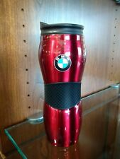 BMW Gripper Travel Mug - RED, 15 Ounce with Silicone Grip 80900440458