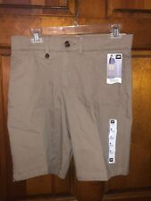 NWT Women's Lee Mid Rise Fit Light Fawn Bermuda Shorts Size 8 M Auction # 2