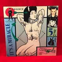 "CULTURE CLUB It's A Miracle 1984 UK  7"" single record EXCELLENT CONDITION"