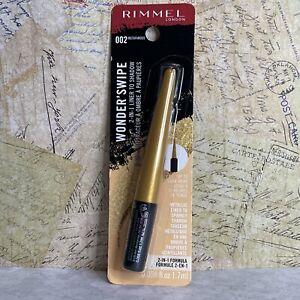 Rimmel London Wonder'Swipe 2-in-1 Eye Liner To Shadow, 002 Instafamous .058 FlOz