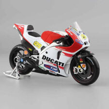 Diecast Motorcycle Ducati 1:18 Model GP Racing Moto bike Kids Toy with base