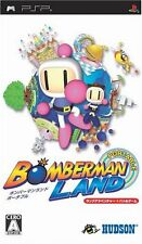 Used PSP Bomberman Land Portable  Japan Import ((Free shipping))