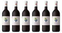 Lenz Moser Blauer Zweigelt Rotwein Trocken Qualitätswein 1000ml 6er Pack