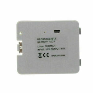 New USB Rechargeable Battery Pack For Wii Fit Balance Board 3800 mAh UK Seller