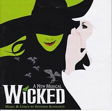 WICKED Original Broadway Cast Soundtrack CD