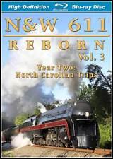 Norfolk & Western 611 Reborn Vol 3 Year 2 North Carolina Trips BLU-RAY N&W