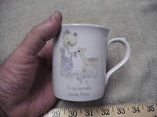 """recious Moments Coffee Cup 1985 """" To My Dear and Special Friend """"Vintage Tea Cup"""