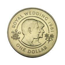 elf Bermuda 1 Dollar 1981 Wedding Charles and Diana