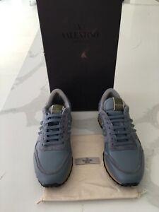 Genuine Valentino Garavani Men's Size 7Grey With Original Box And Dustbag