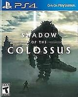 Shadow of the Colossus (Sony PlayStation 4, 2018) Disc Only