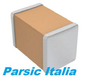Condensatori ceramici 12pF ±5% 50V C0G/NP0 0805 SMD (2012 metrico) x 250 PEZZI