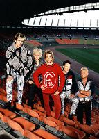 Die Toten Hosen - Promo Photo 1990's - Campino - Fortuna Düsseldorf Rheinstadion