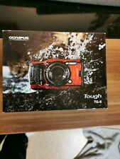 Olympus Tough TG-6 12.0MP Kompaktkamera - Rot - Neu Weihnachtsgeschenk