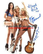 3 PMOY'S! 06 Kara Monaco, O7 Sara Jean Underwood & 08 Jayde Nicole Signed 8x10!