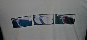 Yamaha RD350LC / RD LC / RD250LC Fuel Tanks Design - White T-Shirt