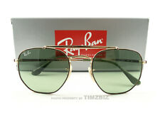 Ray-Ban Sunglasses RB3648 Marshal Tortoise Gold Green 9103/4M New Authentic 51mm