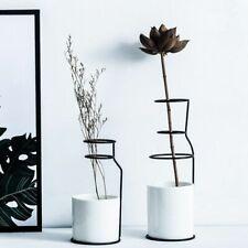 Ceramic Vase Scandinavian Minimalist Style Home Decoration Accessories Modern