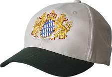 BASEBALLCAP CAP BERRETTO muetze BEIGE NERO CON STICK Loewen Stemma Baviera 68667