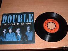 Disco  vinile 45 giri  DOUBLE the captain of her heart