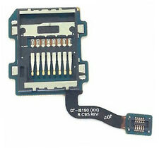 SAMSUNG Galaxy S3 Mini i8190 SD MEMORY CARD READER Holder FLEX CAVO SLOT INTERNO
