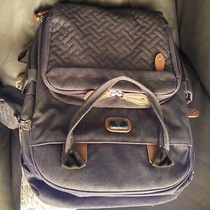Dikaslon Large Nappy Back Pack Multifunction Dark Grey