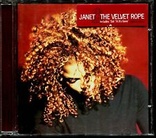 JANET JACKSON - THE VELVET ROPE - EUROPEAN CD ALBUM