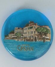 ‪CIPRIANI VENICE LTD EDITION MURANO GLASS PAPERWEIGHT HANDCRAFTED SIGNED RARE