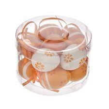 Appendere Pasqua Mini Uova Arancione Vari Modelli x 12