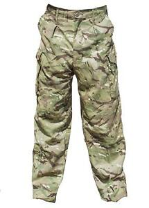 Genuine Army Surplus Issue MTP PCS Combat Trousers,Camouflage Cargo Pants UK