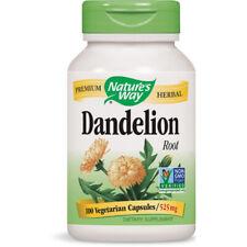 NATURES WAY - Dandelion Root 540 mg - 100 Capsules