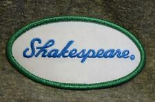 Vintage Oval Shakespeare Fishing Embroidered Patch MINT New