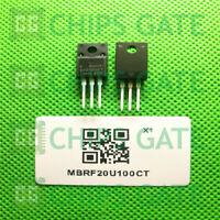 8PCS MBRF20U100CT TO-220 NEC