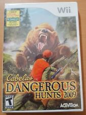 Cabela's Dangerous Hunts 2009 (Nintendo Wii, 2008) NEW Sealed
