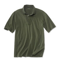 Mens Orvis Montana Morning Polo Shirt Sage Green Rugby Cotton Collar NWT XL Soft