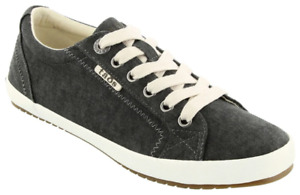 Taos Star Charcoal Canvas Women's