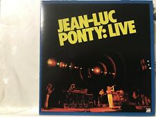 Limited Rare CD sleeve JEAN-LUC PONTY Live AURORA No Strings Attached MIRAGE