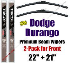 Wipers 2-Pack Premium Wiper Beam Blades - fit 2011+ Dodge Durango 19220/210