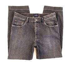Indigo Palms Jeans Size 36 x 28 Classic Fit Short Straight Black Sand Chambray