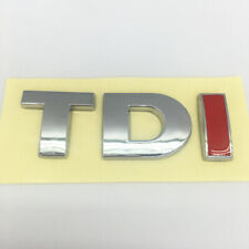 TDI Badge Sticker Emblem Decal For VW GOLF POLO LUPO PASSAT EOS MK4 MK5 MK6 S80
