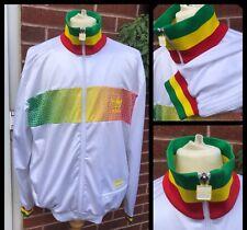 Adidas Chile 62: Rasta Jamaïque Old School Retro Firebird Survêtement Veste: Xl