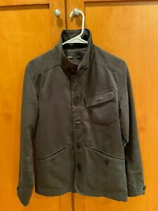 NAU JACKET MEN'S SIZE S IN GRAY (EXCELLENT CONDITION) + WATER RESISTANT
