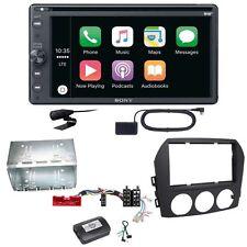 Sony XAV-AX205DB Android Auto CarPlay DAB+ Einbauset für Mazda MX-5 NC FL