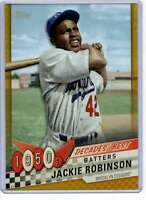 Jackie Robinson 2020 Topps Decades Best 5x7 Gold #DB-16 /10 Dodgers