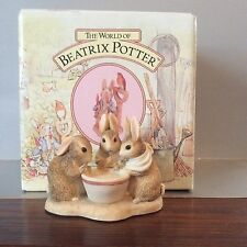 Border Fine Arts Beatrix Potter Figure Flossy Mossy & Cottontail BPM12