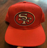 VINTAGE 90'S New Era San Francisco 49ers  PRO MODEL Deadstock Snapback Hat Cap