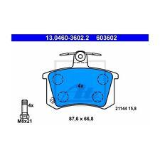 ATE 13.0460-3602.2 Bremsbelagsatz, Scheibenbremse  Hinten Audi 80 100 A4 Avant