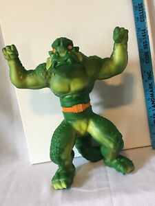 "Vintage 1979 Krusher 14"" Green Monster Rare Stretch Armstrong Enemy Mattel Works"