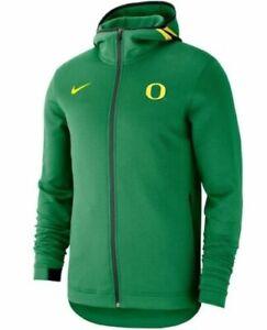 NWTs Mens Nike Green Oregon Ducks Basketball Showtime HD Performance Hoodie XXL