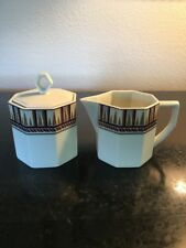 Daniel Hechter Paris Truffles Bone China Japan Sugar and Creamer