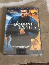 The Bourne Identity (DVD, 2003, Full Frame)